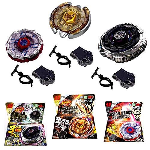 3X Diablo Hades quardian Kampfkreisel 4D Legendär Metall Masters der Beybladesserie Fusion OVP Speed-Launcher Beschleunigungslauncher