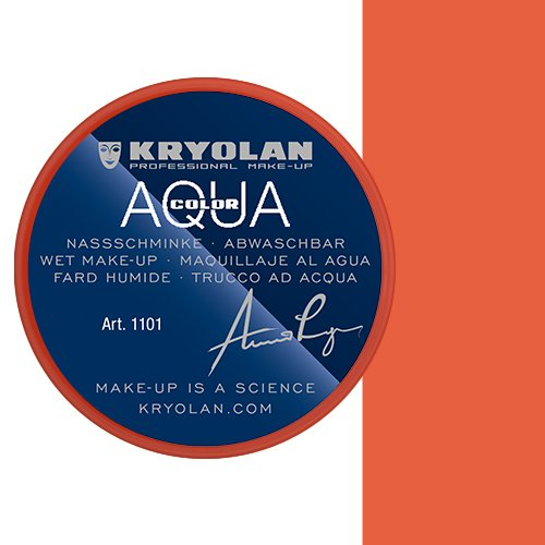 Kryolan Aquacolor Bodypainting Farben Kinderschminke 30 ml Farbe Orange 288