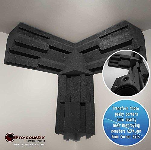 Pro-coustix Ultraflex esquina Kit 6x 300bass trampas + 1x esquina...