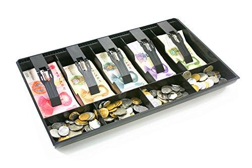 Caja de caja registradora Nueva tienda Classify Monedero de cajón Caja de cajón para caja registradora Caja de cajón cajón 40.4x24.5cm