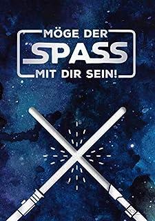 """GRAFIK WERKSTATT Das Original Glückwunschkarte Geburtstag, Musikkarte mit Sound, Song """"Star Wars Theme"""""""