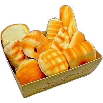 【SHOP SHIMATARO】ジャンボスクイーズ 大きいパンセット バラエティー 10個セット