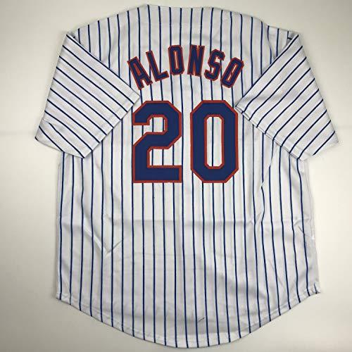 Unsigned Pete Alonso New York Pinstripe Custom Stitched Baseball Jersey Size Men's XL New No Brands/Logos