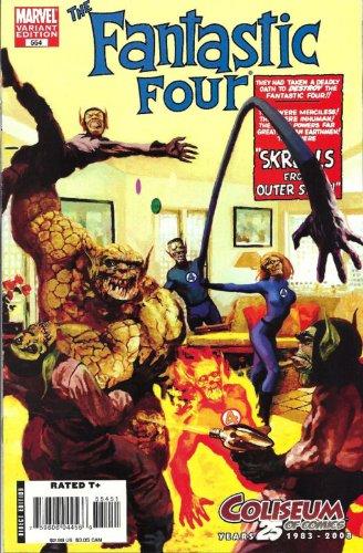 Fantastic Four #554 'Coliseum of Comics Variant- 1st...