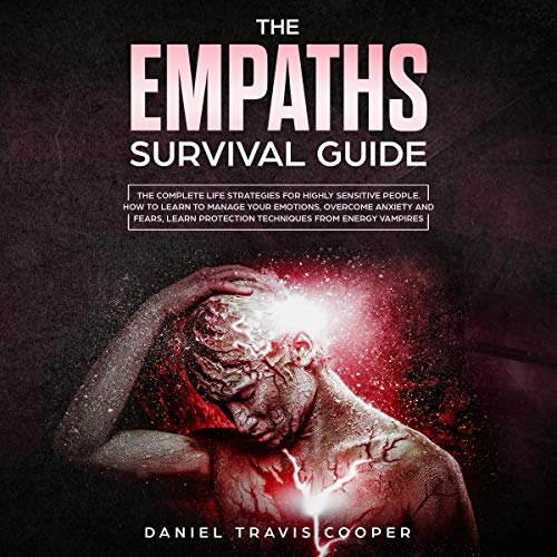 『The Empaths Survival Guide: The Complete Strategies for Highly Sensitive People』のカバーアート