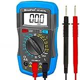 HoldPeak Digital Multimeter, 4070L Manual-Ranging Multi Tester for Measuring Resistance,Capacitance, Inductance, Transistor, hFE of 2000 Count (Blue)…