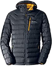 Eddie Bauer Men's Downlight Hooded Jacket, Storm Regular L