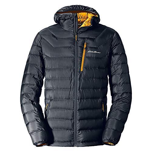 Eddie Bauer Men's Downlight Hooded Jacket, Storm Regular M