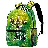Leisure Campus - Mochilas de viaje, cree que usted puede bolsas con soporte para botella para niñas y niños