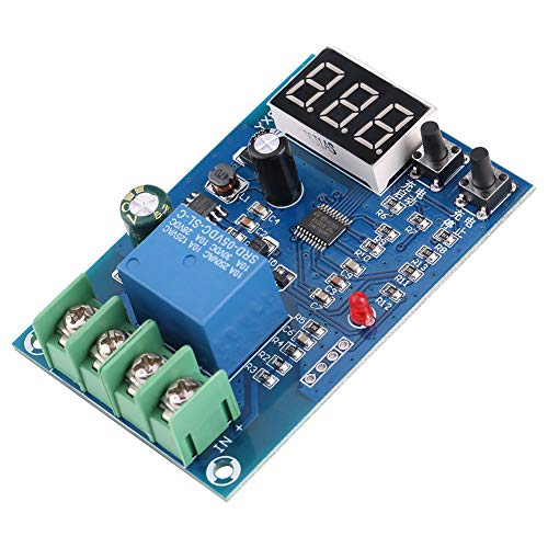 Módulo de control de carga Aramox YX841, módulo de interruptor de fuente de alimentación del cargador de la placa de control de carga de la batería de 6-60 V 10 A