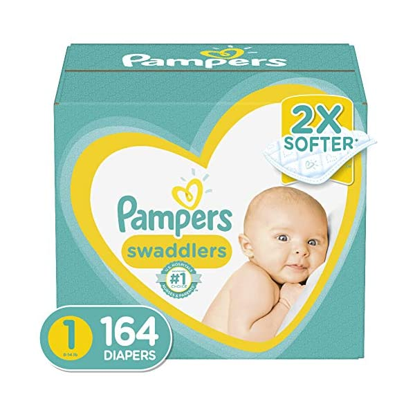 Diapers – Pampers Swaddlers Disposable Baby Diapers