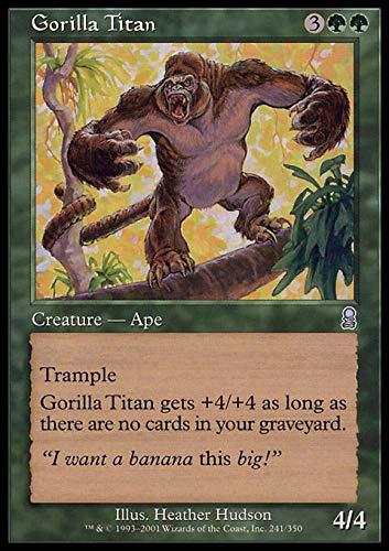 Magic The Gathering - Gorilla Titan - Odyssey