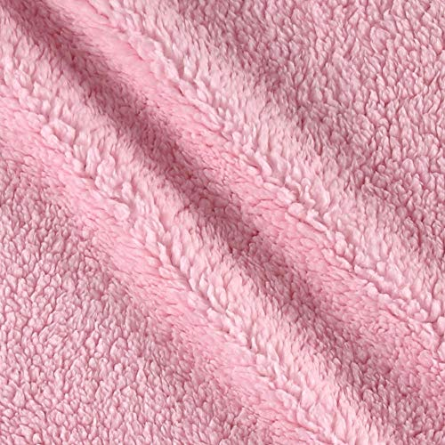 Shannon Minky Luxe Cuddle Sherpa Blush, Fabric by the Yard