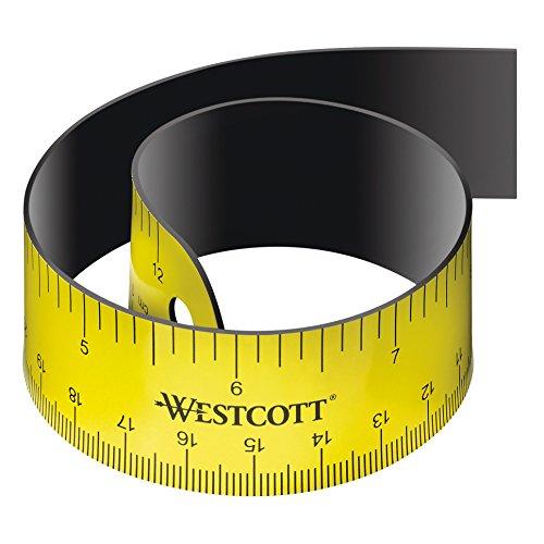 Westcott E-15990 00 - Regla flexible con reverso magnético, 30cm
