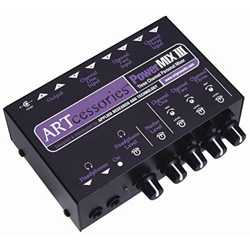 ART PowerMIX III - 3 Channel Personal Mixer