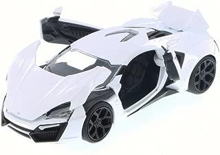 Jada Lykan HyperSport, White 98028 - 1/24 Scale Diecast Model Toy Car