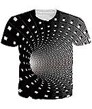 Fanient T-Shirt Männer Sommer T Shirts Unisex T-Shirt 3D gedruckt lässig Grafik Kurzarm Tops Tees