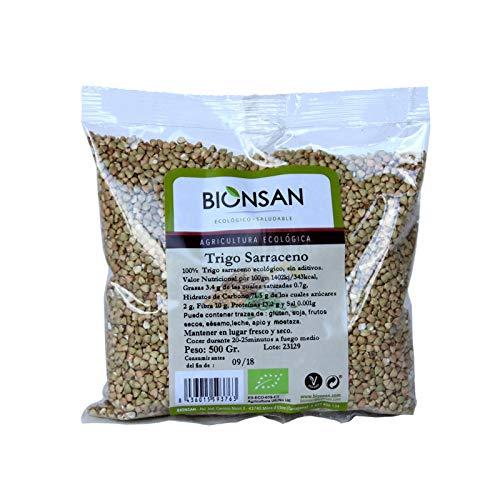 Bionsan Trigo Sarraceno en Grano Ecológico | 6 Bolsas de 500g | Total: 3000 gr