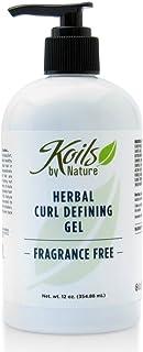 Koils By Nature Herbal Curl Defining Fragrance-free Gel