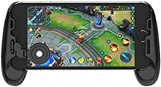 GameSir F1 Grip Game Controller Mobile Joystick Gamepad, Ergonomic Design Handle Holder Handgrip Stand for PUBG Fortnite Red Dead: Redemption, Support 5.5''-6.5'' Smartphone (Black)