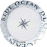 BRUNNER All Inclusive Teller aus Melamin Blue Ocean - 36-tellig - 3