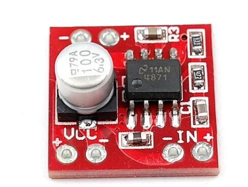 Taidacent 5 pcs lot LM4871 Audio Amplifier Mono Amplifier Board 3w Small Power Amplifier Board