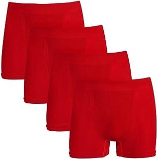 J&Q Copper Antibacterial Men's Seamless Underwear Bamboo Fiber Boxers Briefs 1,2,3,4 Pack