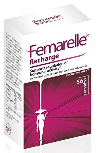 Femarelle Recharge - unterstützt die Regulierung der Hormonaktivität, 56 Kapseln
