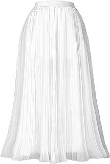 Best white midi skirt Reviews