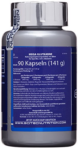 Scitec Nutrition Mega Glutamin, 90 Kapseln - 2