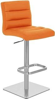 Best orange adjustable bar stool Reviews