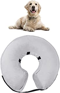 Tylu Dog Collar Pet Inflatable Collar Anti-bite and Anti-Lick PVC Cat Collar for Protecting Small Medium and Large Pets Po...