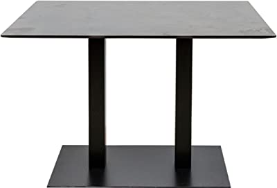 Netfurniture Quinn Hierro Fundido Grande Doble Base de Mesa con 80 ...