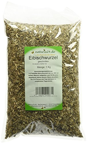 Naturix24 Eibischwurzeltee, Eibischwurzel geschnitten, 1er Pack (1 x 1 kg)