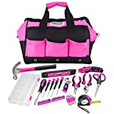 AllSpace 43Piece Ladies Pink Tool Set with Tool Bag