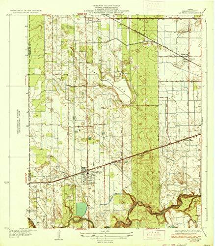 YellowMaps La Feria TX topo map, 1:31680 Scale, 7.5 X 7.5 Minute, Historical, 1936, 19.9 x 17.4 in - Paper