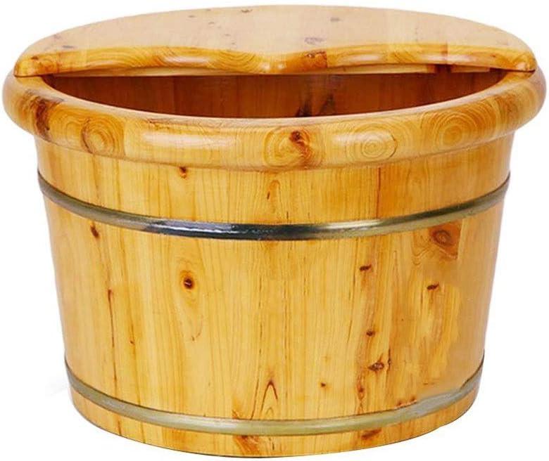 NCHEOI Foot Deluxe Bath Tub Pedicure Wooden Bucket ,Mas Basin Choice Sauna