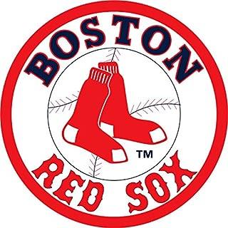 skyhighprint - Boston Red Sox MLB Baseball Decor Vinyl Print Sticker 12'' X 12''