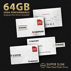 HP Envy x360 Late 2019,15.6 Full HD Touch,Intel i7-10510U Quadcore 10th Gen,NVIDIA MX250(4 GB),1TB SSD,16GB RAM,Win 10 Pro Pre-Installed by HP, Neopack 64GB Flash Drive,B&O Speakers,Fingerprnt,HP WTY