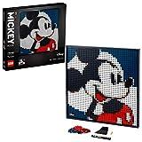 LEGO31202ArtDisney'sMickeyMousePóster, SetdeConstrucciónManualidadesparaAdultos,DecoracióndeParedPóster