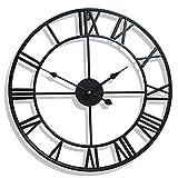 壁時計の装飾大、ロンドンの家大壁時計金属骨格ローマ数字80 cm