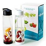 Infuser Trinkflasche – 2er Set – Fruchtschorlen im Handumdrehen – 100% BPA frei –...