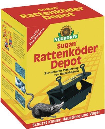 "Rattenköder Depot ""Sugan®"" NEUDORFF RATTEN- KöDER DEPOT 617"