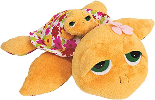 Unbekannt Li'l Peepers 14211 - Suki Gifts Sunshine Schildkröte Mama mit Baby, 29 cm, gelb