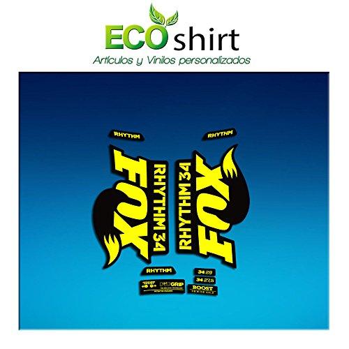 Ecoshirt U8-0AS4-MTKX - Pegatinas Fork Fox 34 Rhythm...