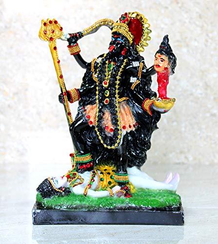 eSplanade Resin Kali MATA Murti Idol Statue Sculpture (8.5' Inch high)