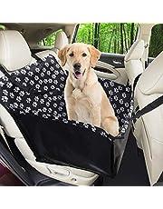 Wimypet Refuerzo de Coche para Perros, Fundas de Asiento de Perro a Prueba de Agua Manta de Auto para Mascotas con Cinturón de Seguridad para Perro (68 x 57 x 33 cm)