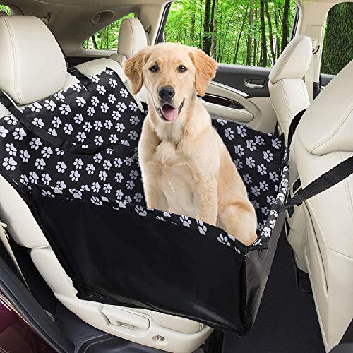 Wimypet Pet Rialzo per seggiolino Auto per Cani Gatti Pet, Pieghevole Pet Gatto seggiolini Auto Viaggi Auto Sicurezza Sedile, Impermeabile Traspirante per Auto SUV Camion
