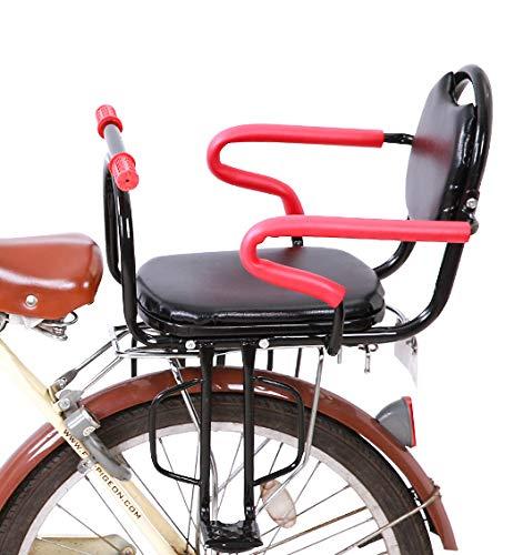 Fietsstoeltje voor kinderen - Fietsstoeltje met armleuning en pedaal - Fiets Kinderzitje - Fietsstoeltje Geschikt voor de meeste fietsen