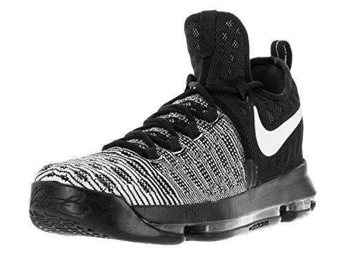 Nike Mens Zoom KD 9'Mic Drop Black/White 843392-010 Size 10 Kevin Durant